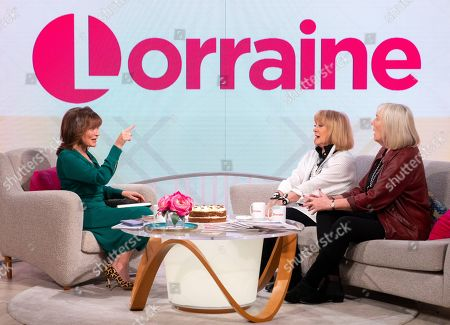 Lorraine Kelly, Amanda Barrie and Hilary Bonner