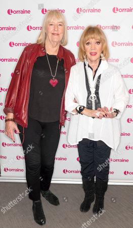 Amanda Barrie and Hilary Bonner