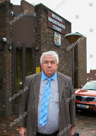 Fergus Wilson at Chatham Magistrates court