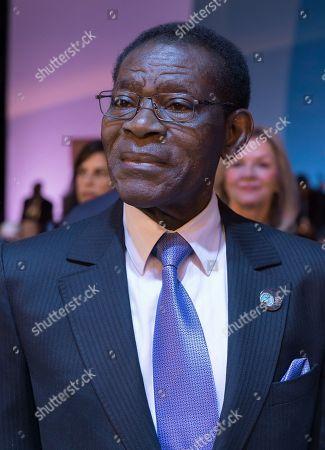 Teodoro Obiang Nguema Mbasogo, President of Equatorial Guinea