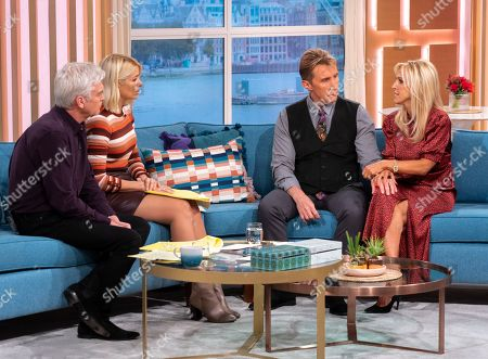 Phillip Schofield and Holly Willoughby with Nik and Eva Speakman