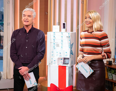 Stock Photo of Phillip Schofield and Holly Willoughby
