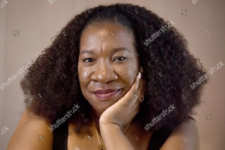 Me Too movement founder Tarana Burke poses for a portrait at the National Press Club (NPC)  in Canberra, Australian Capital Territory, Australia, 13 November 2019. Tarana Burke, alongside former Australian journalist Tracey Spicer, will be awarded with the 2019 Sydney Peace Prize on 14 November 2019 in the Sydney Town Hall.