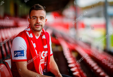 Editorial picture of St. Patrick's Athletic Unveil New Signing Robbie Benson, Richmond Park, Dublin  - 13 Nov 2019