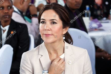 Danish Crown Princess Mary attends a panel discussion 'Women Leaders High Level Dialogue', on the sidelines of the Nairobi Summit on International Conference on Population and Development (ICPD25), in Nairobi, ?Kenya, 13 November 2019. The summit takes place from 12 to 14 November.