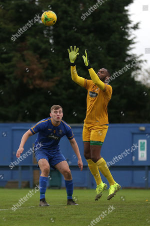 Editorial photo of Romford vs Soham Town Rangers, BetVictor League North Division, Football, the Brentwood Centre, Brentwood, Essex, United Kingdom - 02 Nov 2019