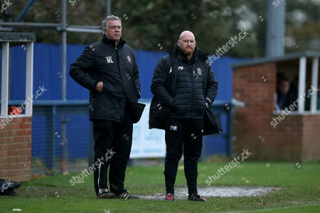Romford manager Paul Martin during Romford vs Soham Town Rangers, BetVictor League North Division Football at the Brentwood Centre on 2nd November 2019