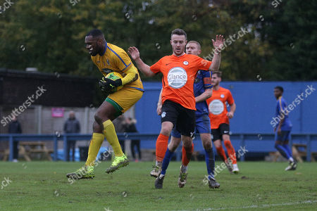 Editorial picture of Romford vs Soham Town Rangers, BetVictor League North Division, Football, the Brentwood Centre, Brentwood, Essex, United Kingdom - 02 Nov 2019