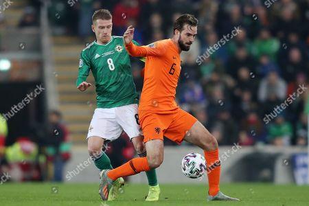 Editorial picture of Northern Ireland v Netherlands, UEFA Euro 2020 Qualifying Group C, Football, Windsor Park, Belfast, Northern Ireland, UK - 16 Nov 2019
