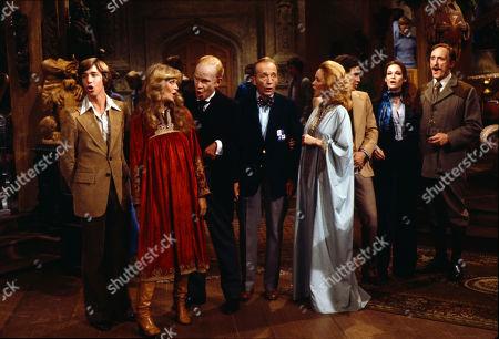 Nathaniel Crosby, Twiggy, Stanley Baxter, Bing Crosby, Kathryn Grant, Harry Crosby, Mary Crosby and Ron Moody