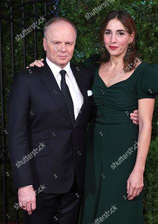 Jason Watkins and Clara Francis