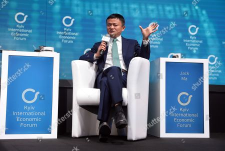 Stock Image of Founder of Alibaba Group Jack Ma