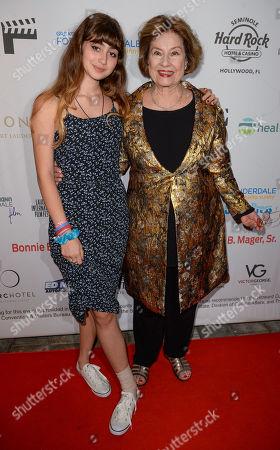 Sylvia Hartman and Diane Baker