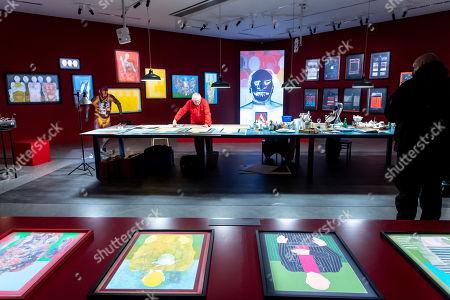 Editorial picture of World of Saskia Boddeke & Peter Greenaway exhibition in Torun, Poland - 13 Nov 2019