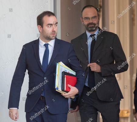 Editorial photo of Weekly cabinet meeting at Elysee Palace, Paris, France - 13 Nov 2019