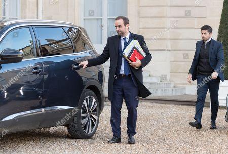 French deputy minister, Sebastien Lecornu