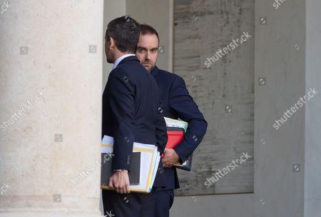 Stock Photo of French deputy minister, Sebastien Lecornu