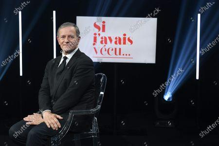 Editorial picture of 'Si j'avais vecu' TV show, Paris, France - 07 Nov 2019