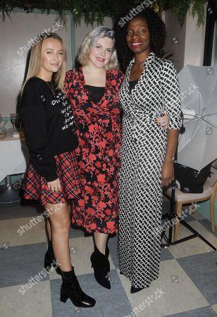 Tiffany Watson, Natalie Eleni and guest