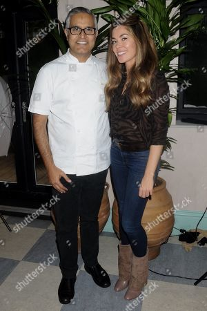 Atul Kochhar and Sophie Stanbury