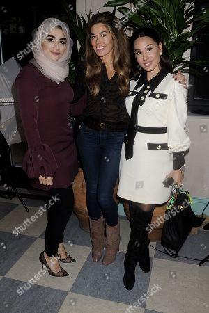 Stock Picture of Dr Marwa, Sophie Stanbury and Lucy