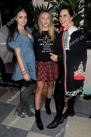Gemima Taylor, Tiffany Watson and Sarah Keable