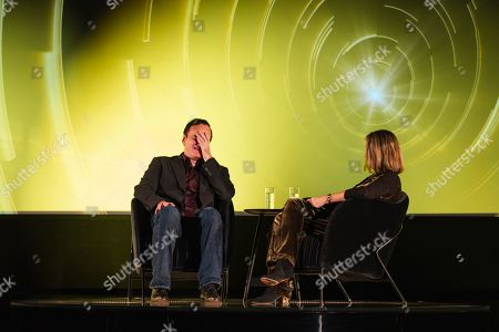 Stock Picture of Quentin Tarantino in conversation with Francine Stock