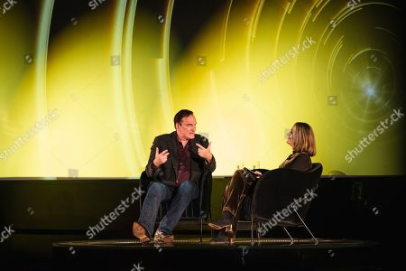 Quentin Tarantino in conversation with Francine Stock