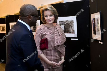 Denis Mukwege and Queen Mathilde