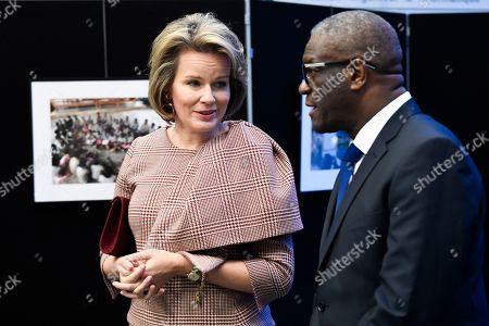 Queen Mathilde and Denis Mukwege