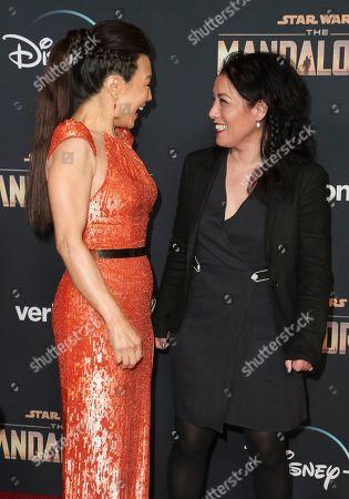 Stock Photo of Ming-Na Wen and Deborah Chow
