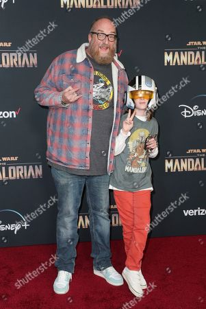 Editorial image of 'The Mandalorian' TV show premiere, Arrivals, El Capitan Theatre, Los Angeles, USA - 13 Nov 2019