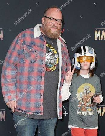 Editorial photo of 'The Mandalorian' TV show premiere, Arrivals, El Capitan Theatre, Los Angeles, USA - 13 Nov 2019
