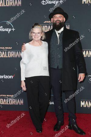 Editorial picture of 'The Mandalorian' TV show premiere, Arrivals, El Capitan Theatre, Los Angeles, USA - 13 Nov 2019