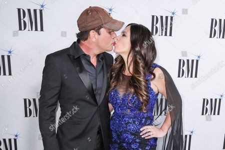 Rodney Atkins, Rose Falcon. Rodney Atkins, left, and Rose Falcon arrive at 67th Annual BMI Country Awards ceremony at BMI Music Row offices, in Nashville, Tenn