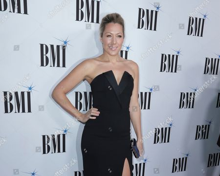 Colbie Caillat arrives at 67th Annual BMI Country Awards ceremony at BMI Music Row offices, in Nashville, Tenn