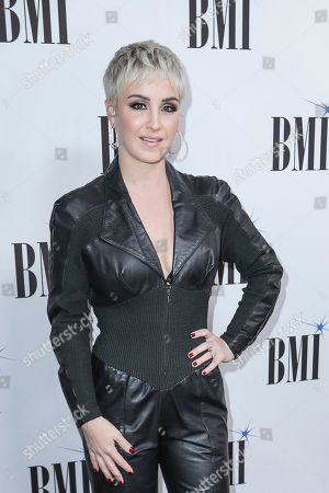 Maggie Rose arrives at 67th Annual BMI Country Awards ceremony at BMI Music Row offices, in Nashville, Tenn