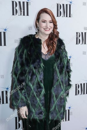 Hilary Williams arrives at 67th Annual BMI Country Awards ceremony at BMI Music Row offices, in Nashville, Tenn