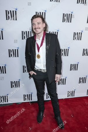 Morgan Wallen arrives at 67th Annual BMI Country Awards ceremony at BMI Music Row offices, in Nashville, Tenn