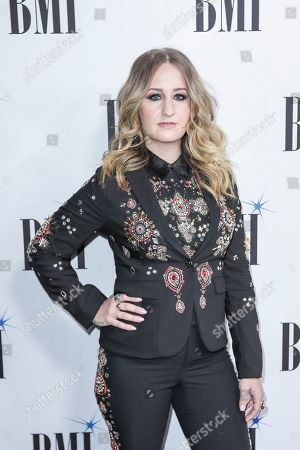Margo Price arrives at 67th Annual BMI Country Awards ceremony at BMI Music Row offices, in Nashville, Tenn