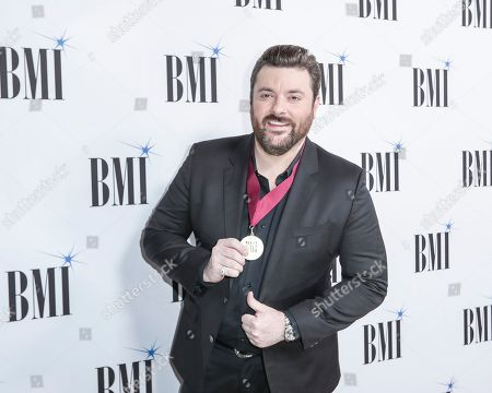 Chris Young arrives at 67th Annual BMI Country Awards ceremony at BMI Music Row offices, in Nashville, Tenn