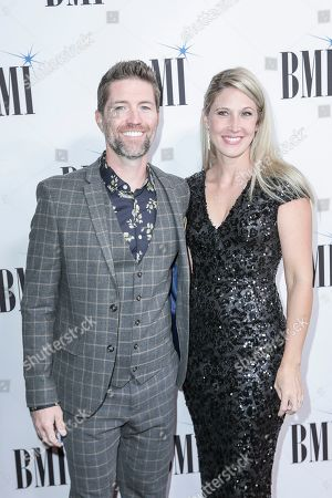 Josh Turner, Jennifer Ford. Josh Turner, left, and his wife, Jennifer Ford, arrive at 67th Annual BMI Country Awards ceremony at BMI Music Row offices, in Nashville, Tenn