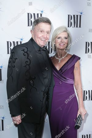 Bill Anderson, left, arrives at 67th Annual BMI Country Awards ceremony at BMI Music Row offices, in Nashville, Tenn