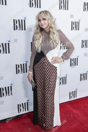 Stock Photo of Heather Morgan arrives at 67th Annual BMI Country Awards ceremony at BMI Music Row offices, in Nashville, Tenn