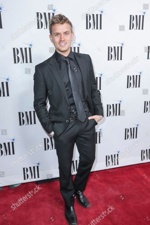 Stock Picture of Levi Hummon arrives at 67th Annual BMI Country Awards ceremony at BMI Music Row offices, in Nashville, Tenn