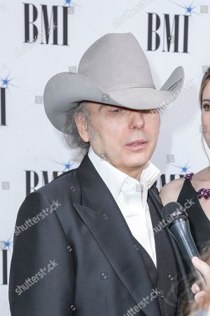 Dwight Yoakam arrives at 67th Annual BMI Country Awards ceremony at BMI Music Row offices, in Nashville, Tenn