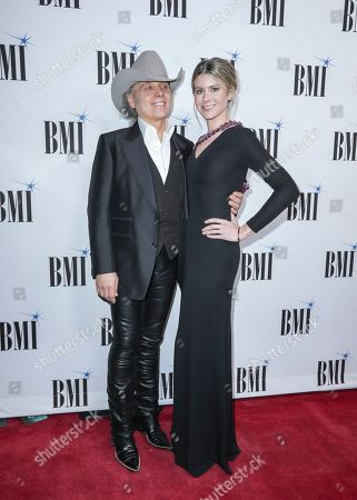 Dwight Yoakam, Emily Joyce. Dwight Yoakam, left, and Emily Joyce arrive at 67th Annual BMI Country Awards ceremony at BMI Music Row offices, in Nashville, Tenn