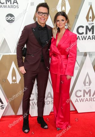 Bobby Bones and Amy Brown