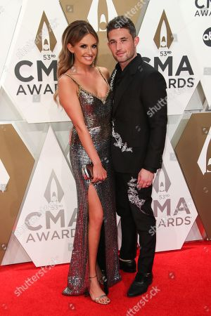 Stock Image of Carly Pearce and Michael Ray