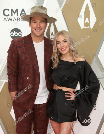Stock Picture of Colton Underwood and Cassie Randolph
